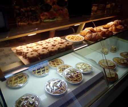 Banco dei dolci da forno del Pinan di Rossiglione